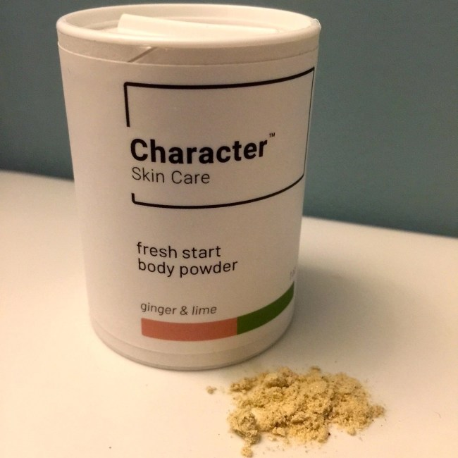 Character Skin Care Fresh Start Body Powder