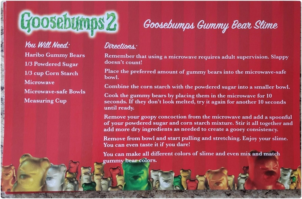 Goosebumps Gummy Bear Bark