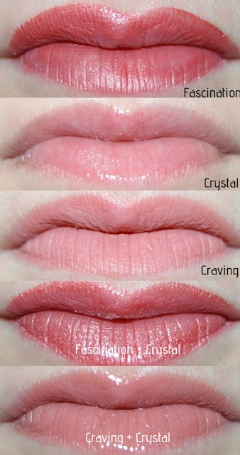 Holiday Makeup_Jane Iredale Kiss and Tell Lip Swatches