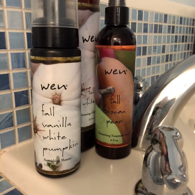 WEN Hair Care-Fall Vanilla White Pumpkin Collection