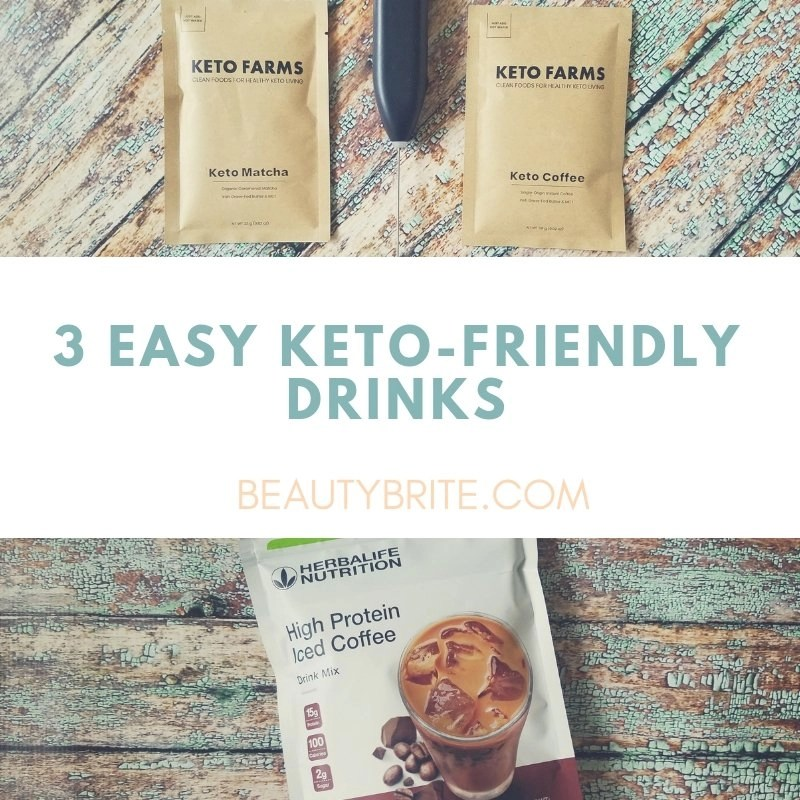 3 Easy Keto-Friendly Drinks - social media