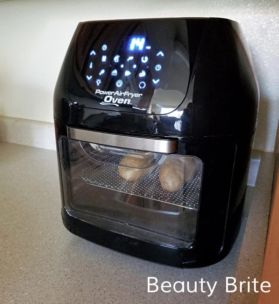 Baking Potatoes in the Power Air Fryer Oven