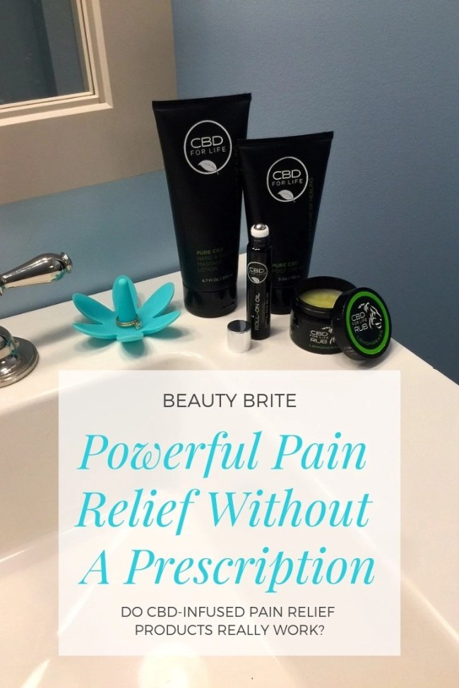 Powerful Pain Relief Without A Prescription-CBD For Life Pain Relief and Beauty Products