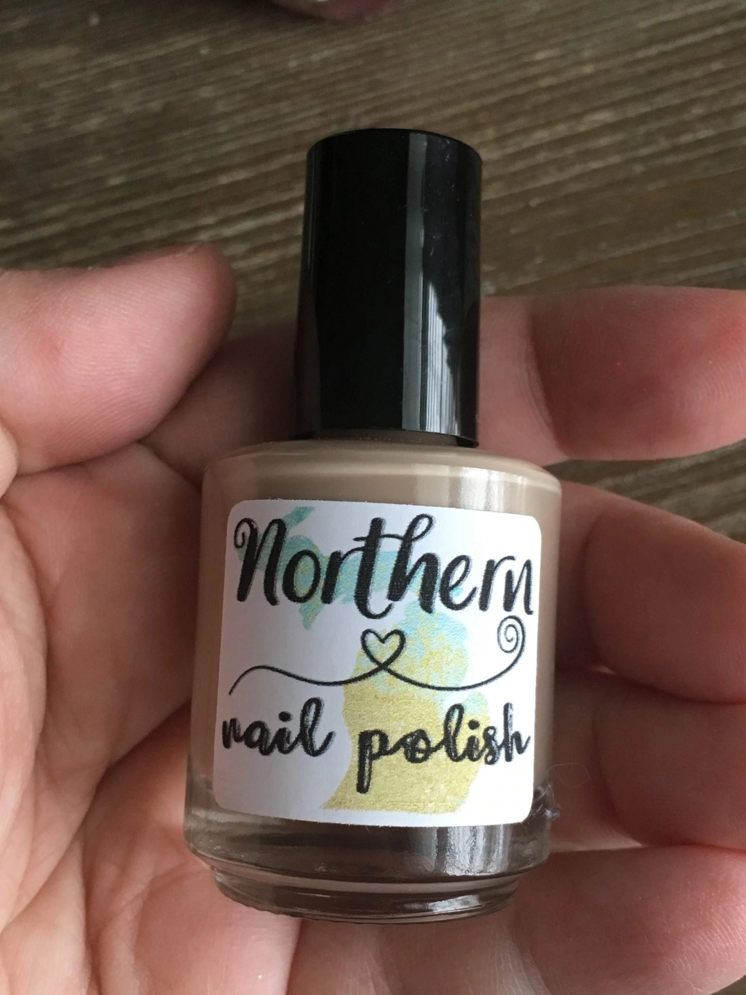 Northern Nail Polish in Sand Between my Toes