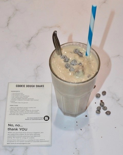 Superfood Cookies_Cookie Dough Shake Finished Product
