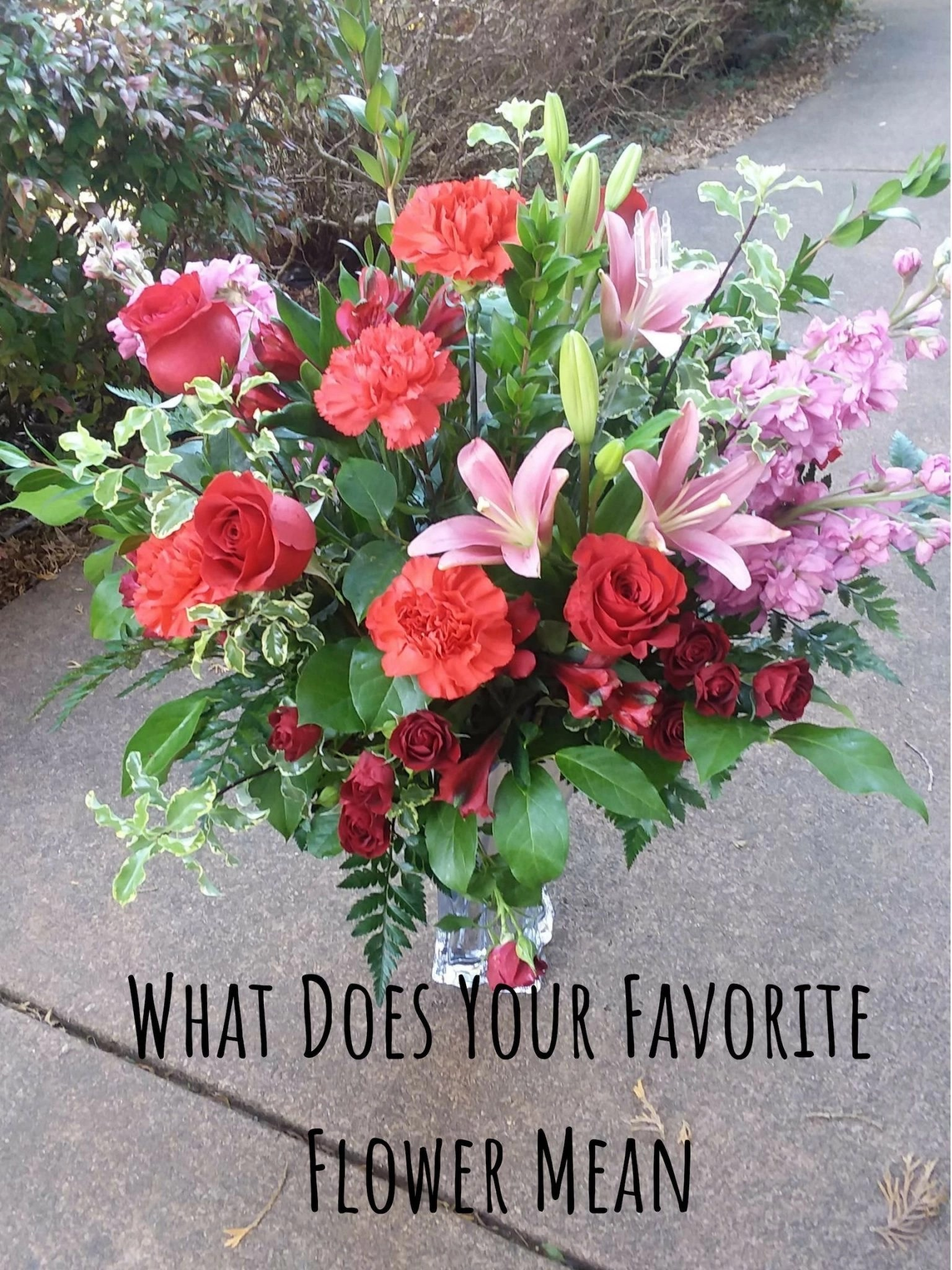 What Does Your Favorite Flower Mean
