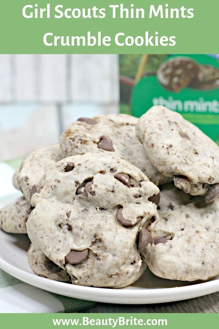 Girl Scouts Thin Mints Crumble Cookies