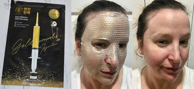 Gold Propolis Injection Sheet Mask