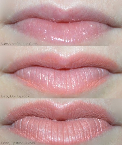 Green Beauty - Lip Swatches