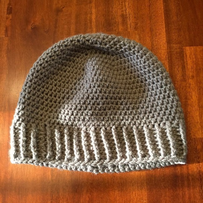 My Stock Photos-Crochet Salt of the Earth Beanie-grey