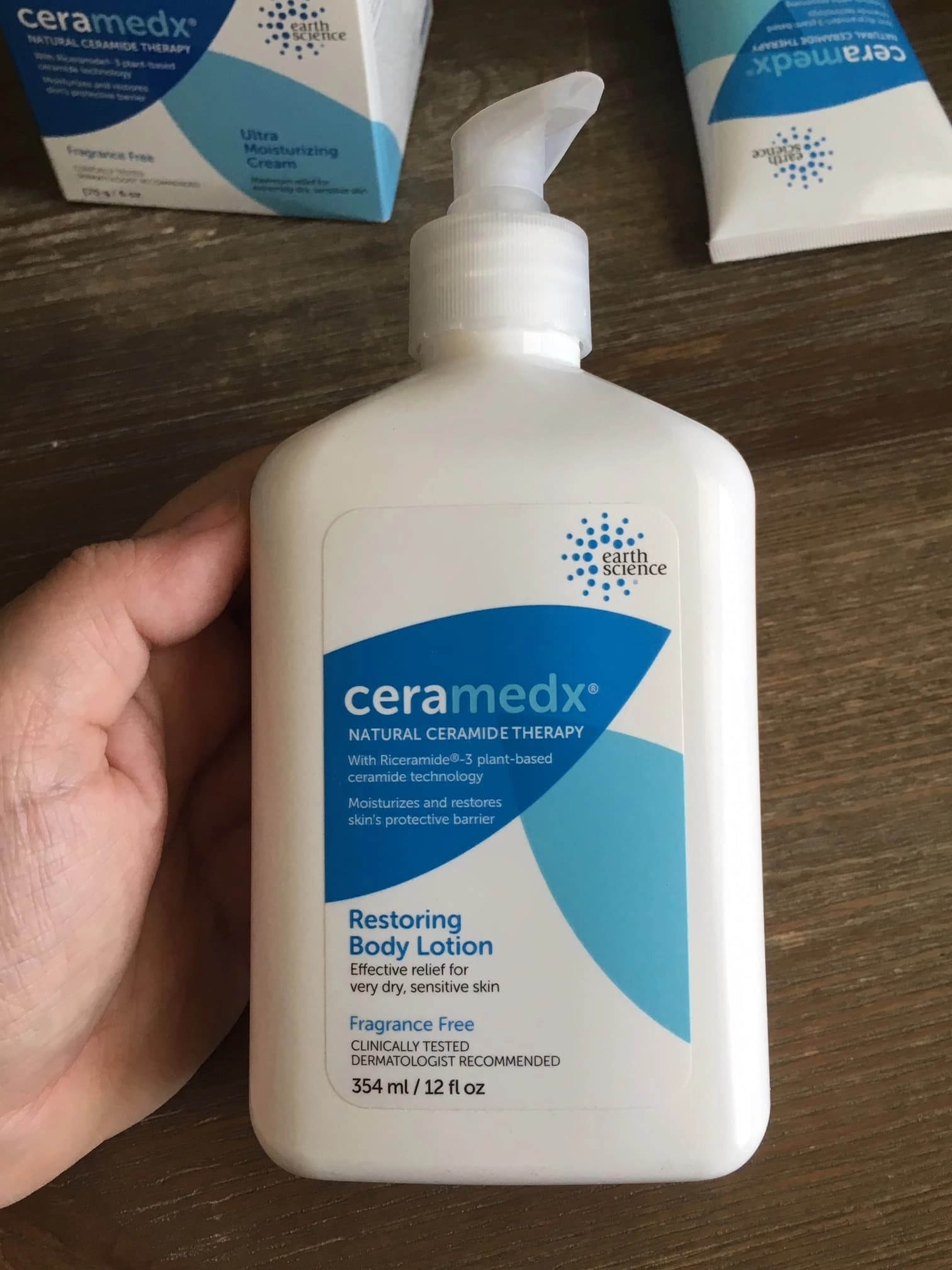 Restoring Body Lotion front of packaging