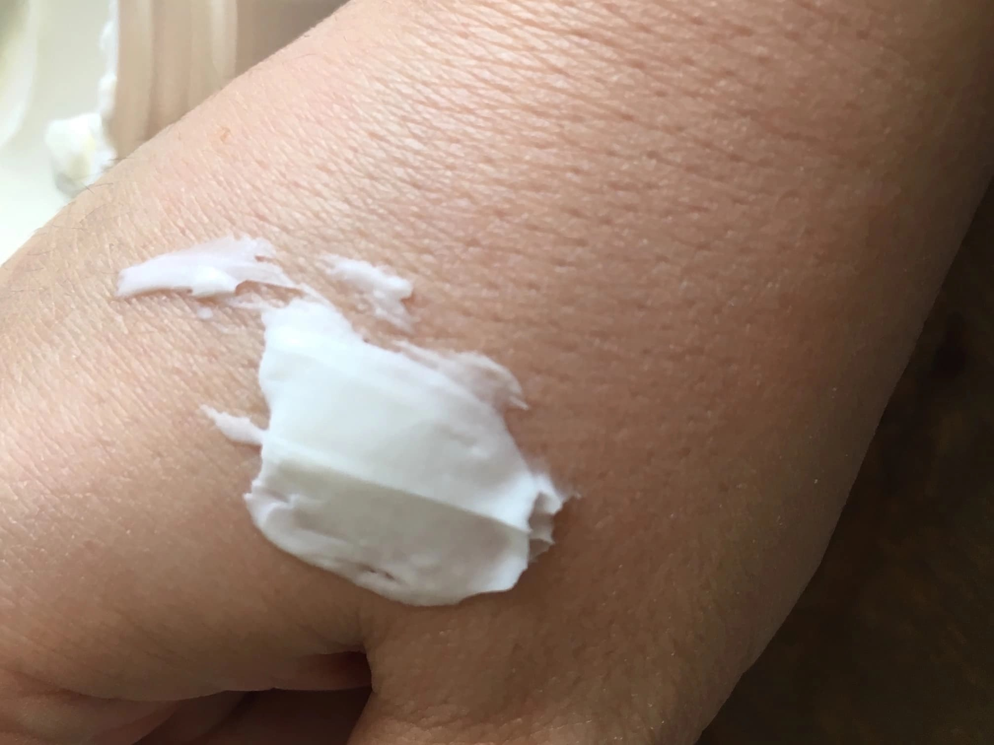 Ultra Moisturizing Cream product on hand