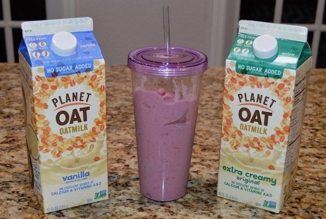 Allergy Free Plant Oat Milk Smoothie