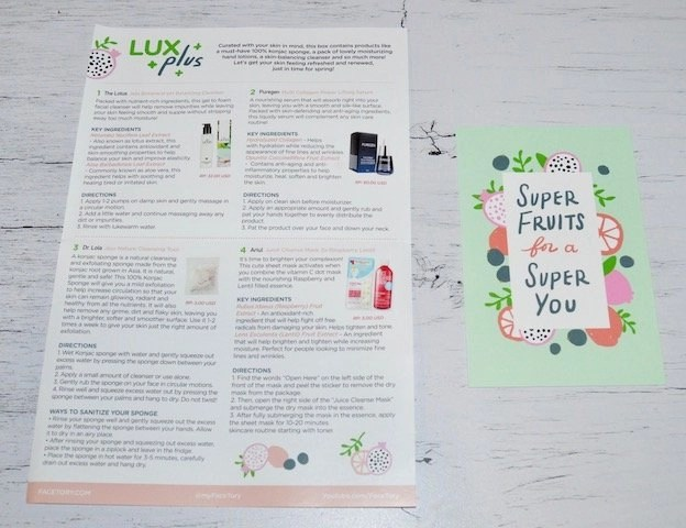 K-Beauty Super Fruit_Facetory Lux Plus Box