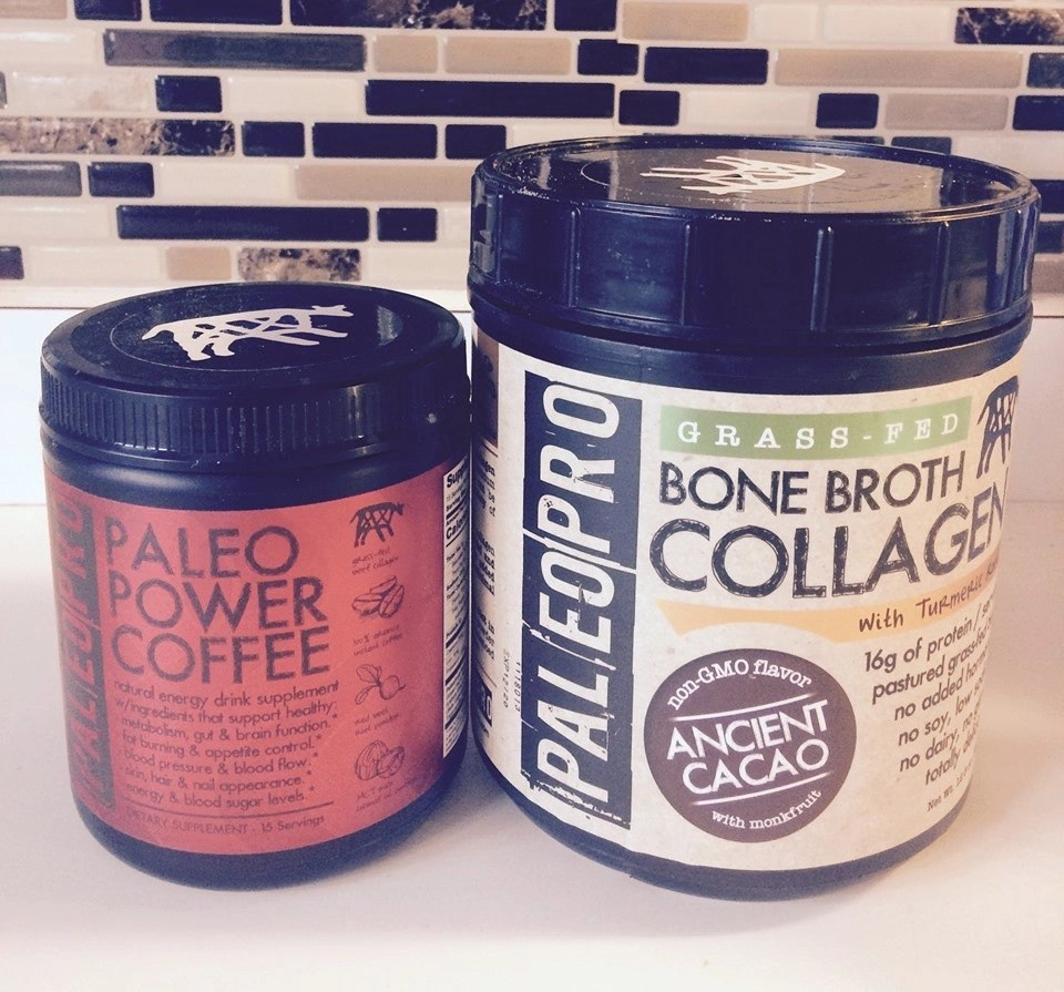 PaleoPro Paleo Power Coffee and Bone Broth Collagen Low Carb