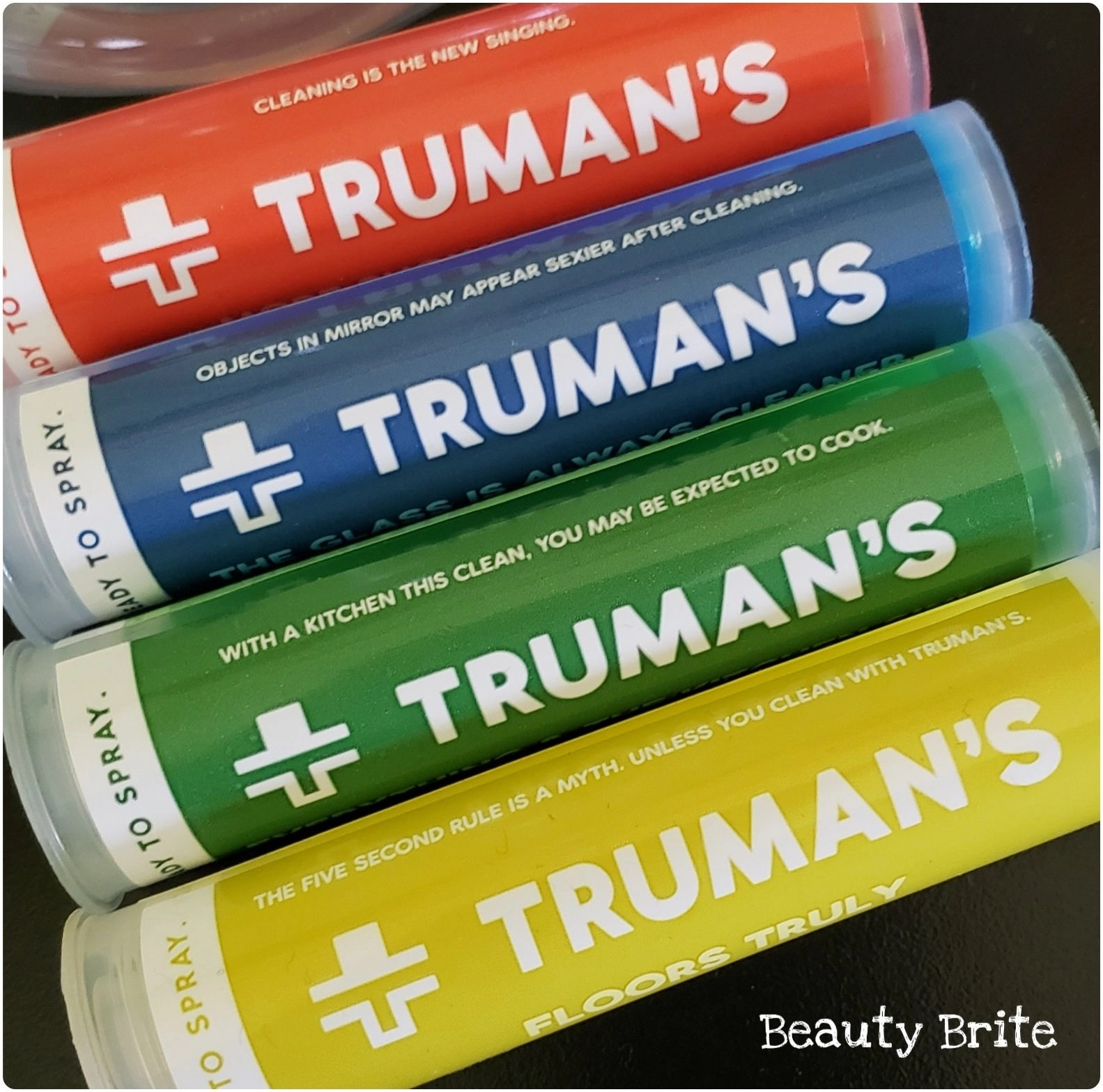 TRuman's Funny Sayings on their Cartridges
