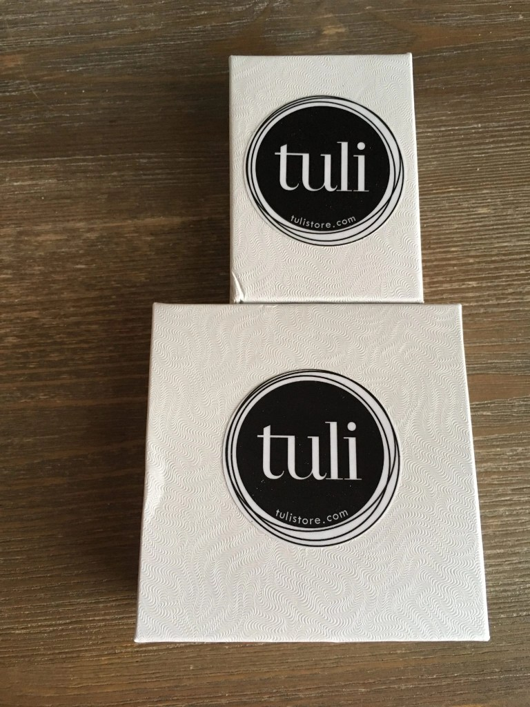 Tuli Jewelry in boxes