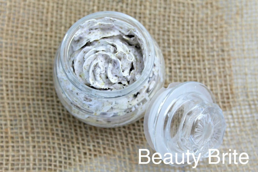 Dried Calendula  Lavender Whipped Soap with lid