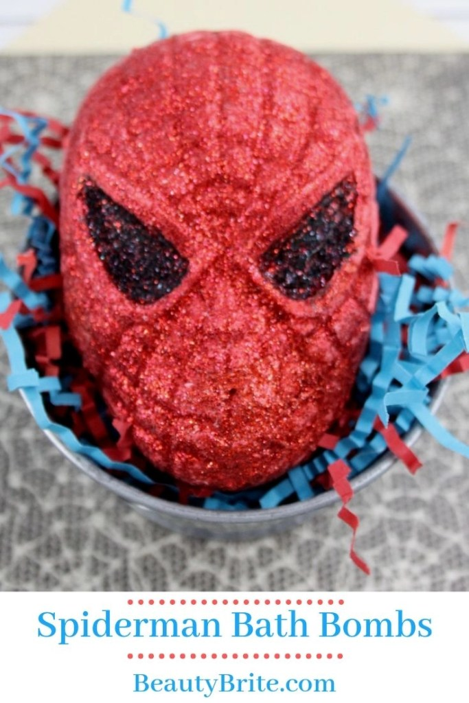 Spiderman Bath Bombs