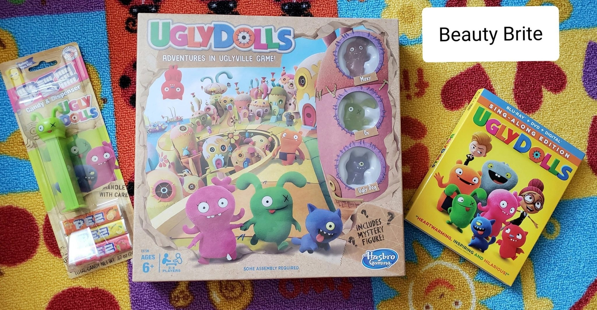 Ugly Dolls Uglyville board game