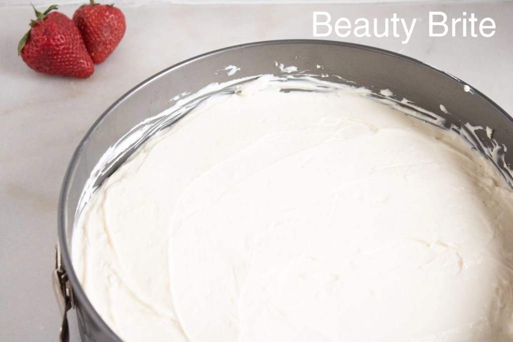 No Bake Almond Cheesecake With Toppings IP Step 5