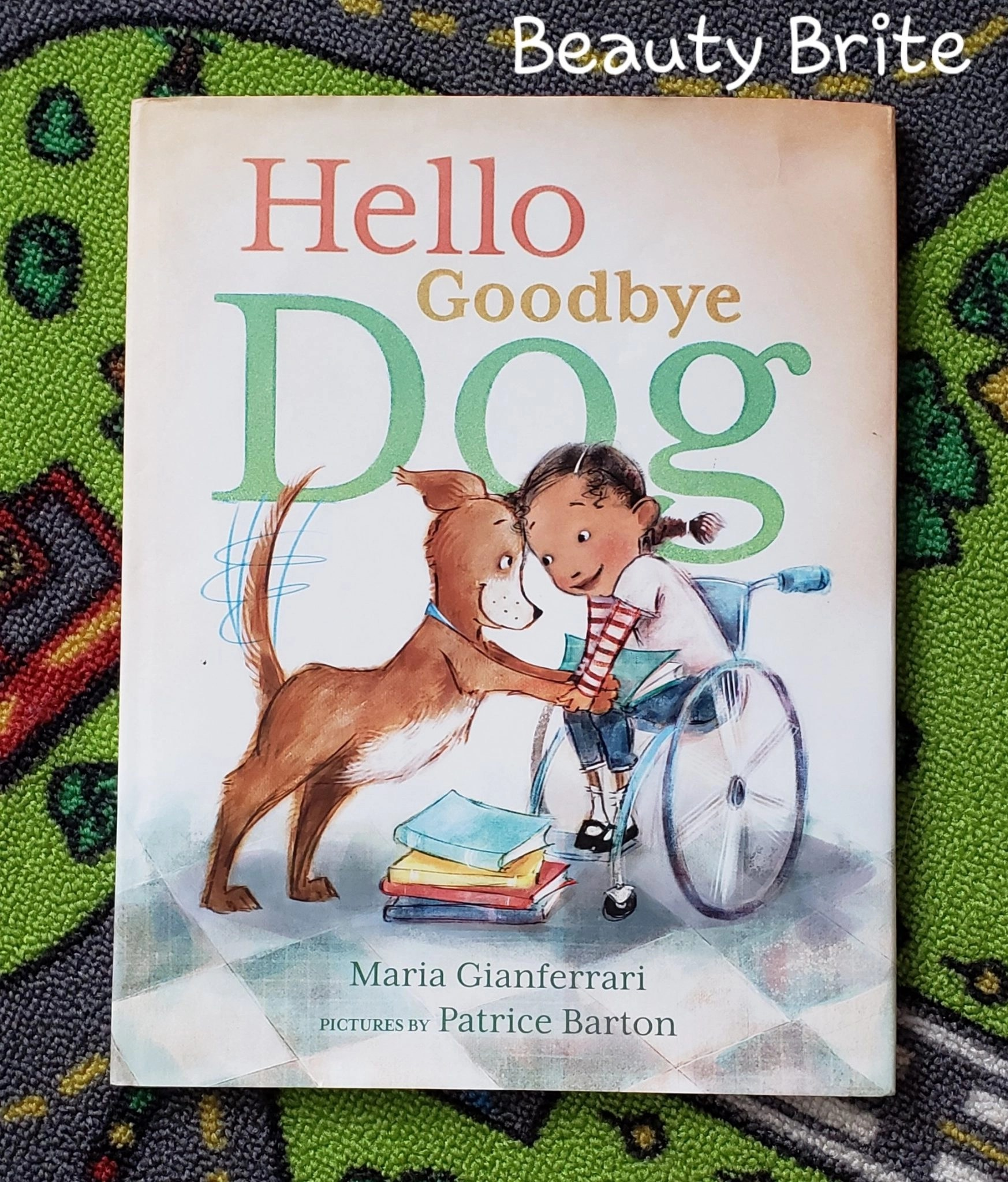 Jambo Book Club Hello Goodbye Dog