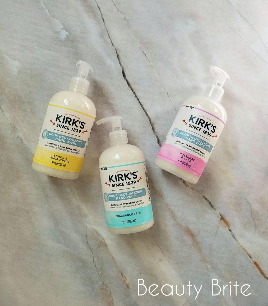 Kirks Odor Neutralizing Hydrating Hand Soap