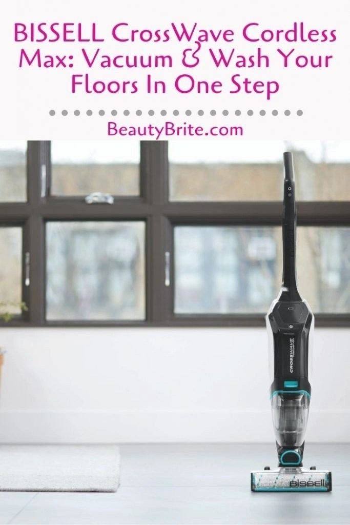 BISSELL CrossWave Cordless Max: Vacuum & Wash Your Floors In One Step