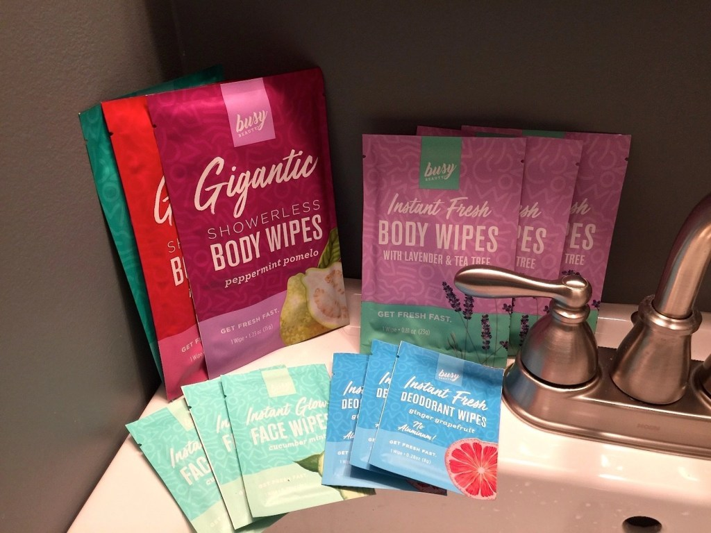 Busy Beauty Body Wipes