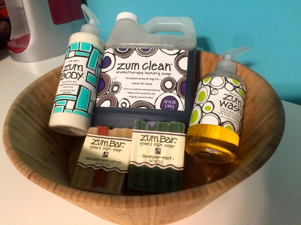 Natural Organic Body And Home Care - Indigo Wild Zum Cleaning Products