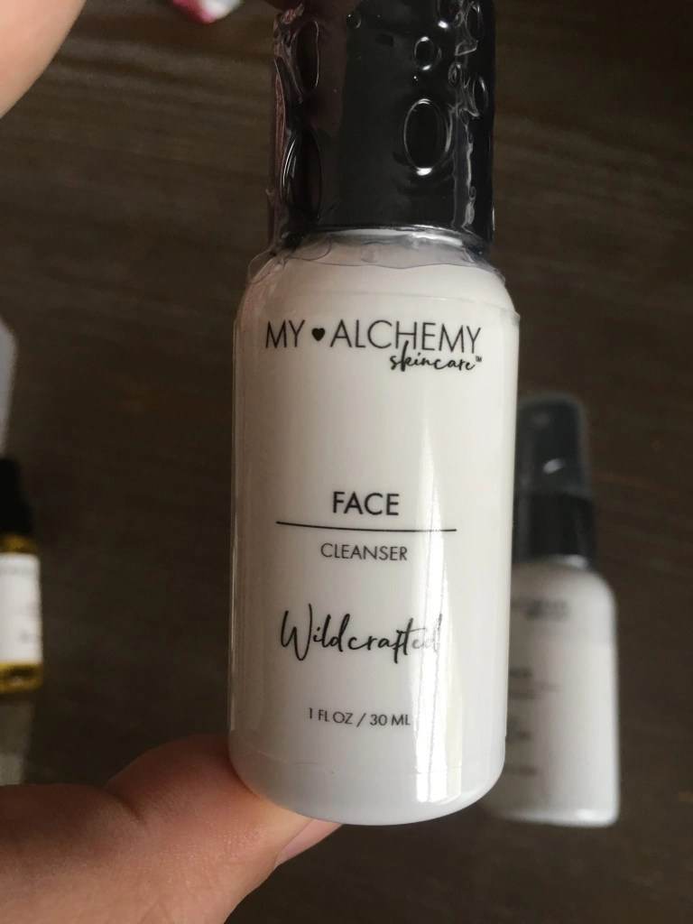 My ALCHEMY Skin Care Travel Mini Face Cleanser