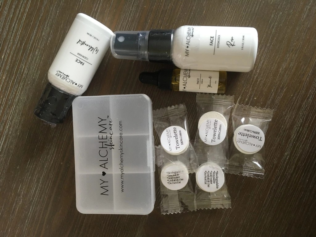 My ALCHEMY Skin Care Travel Mini Kit