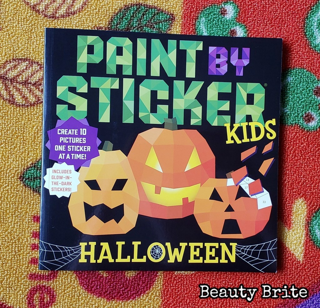 Paint By Sticker Halloween