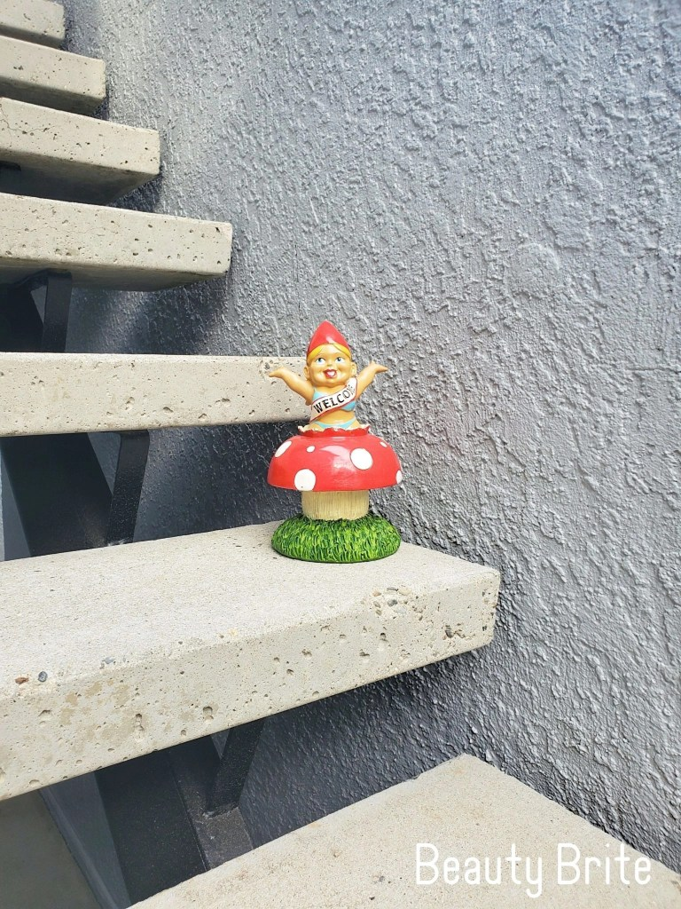 The Surprise Welcome Home garden gnome
