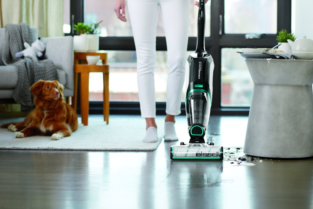 Vacuum and Wash Your Floors