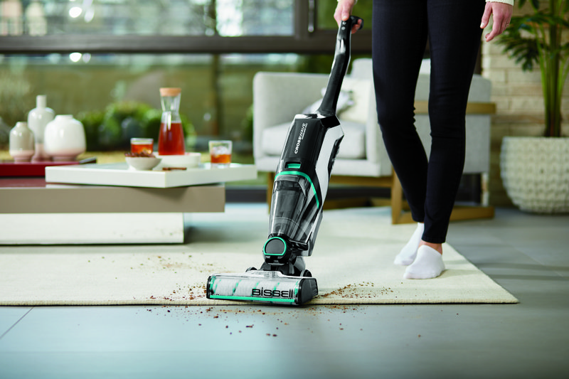 Vacuum your floors with BISSELL CrossWave Cordless Max