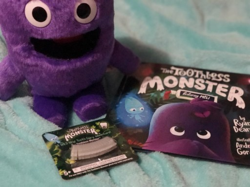 The Toothless Monster book and activity - meli the toothless monster