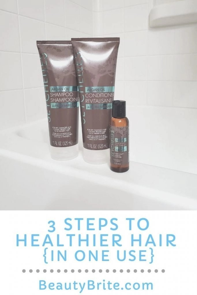 3 Steps To Healthier Hair {In One Use}