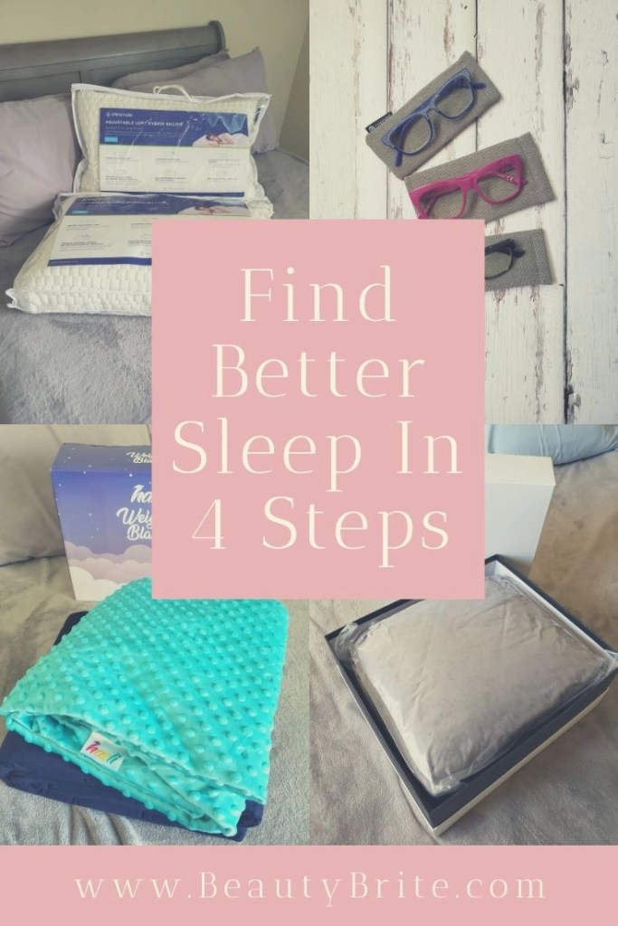 Find Better Sleep In 4 Steps