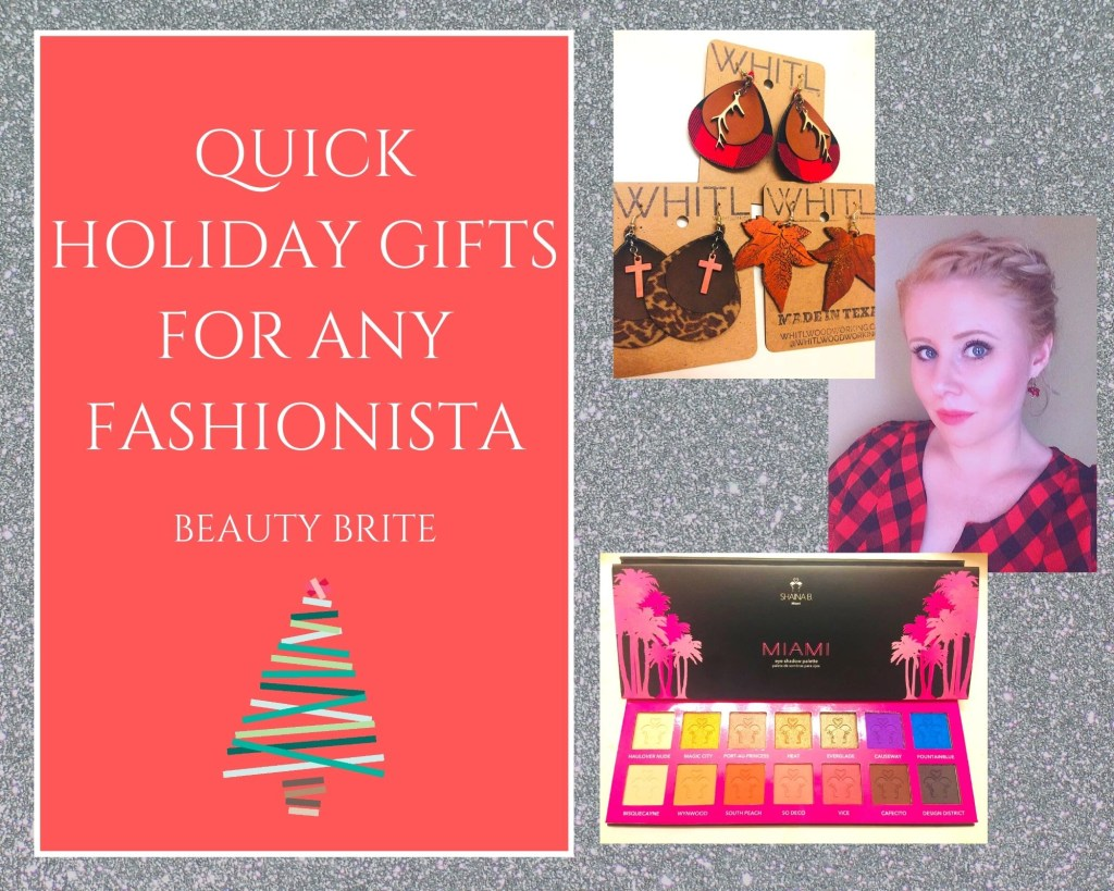 Quick Holiday Gifts For Any Fashionista