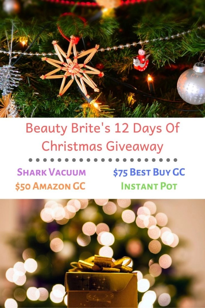Beauty Brite's 12 Days Of Christmas Giveaway
