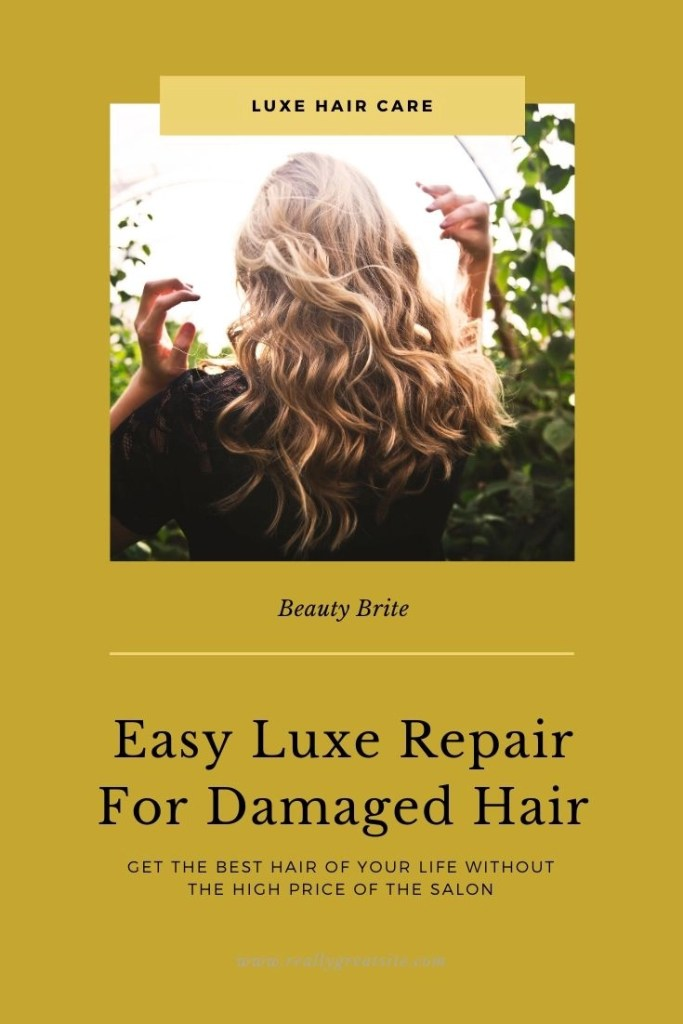 Easy Luxe Repair For Damaged Hair - Ayur Luxe Hair Care