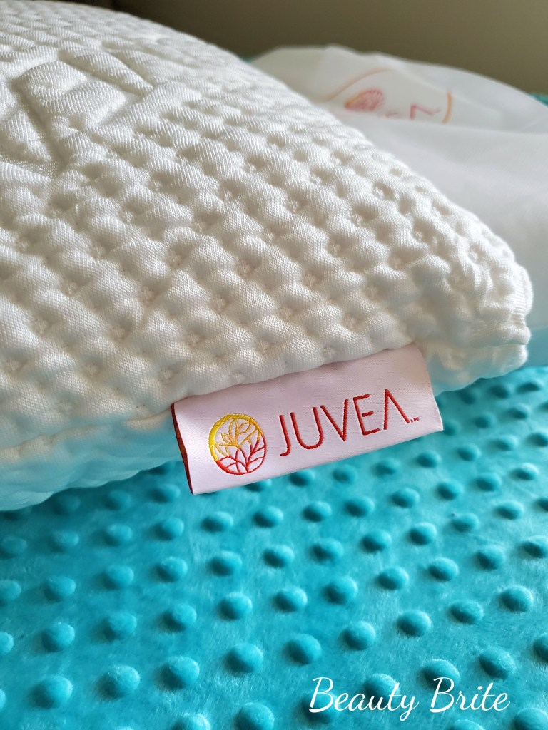 Juvea Pillow with TENCEL™ Lyocell Fiber Cover upclose