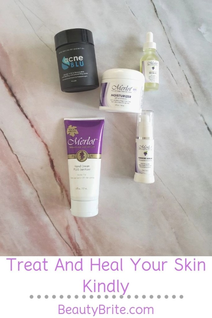 Treat And Heal Your Skin Kindly