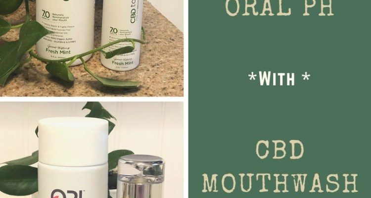Perfect Oral pH with CBD Mouthwash & Toothpaste