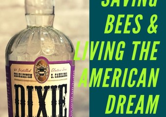 Dixie Vodka Saves Bees & NASCAR