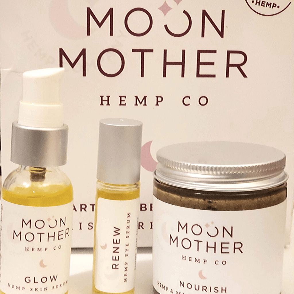 Moon Mother Hemp Products= Anti Aging CBD Beauty