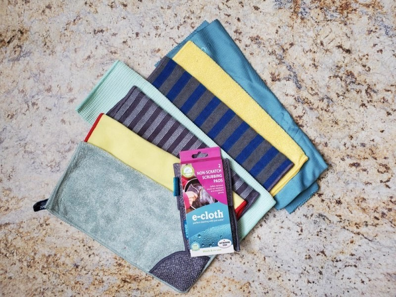 Home Cleaning Set and Non-Scratch Scrubbing Pads