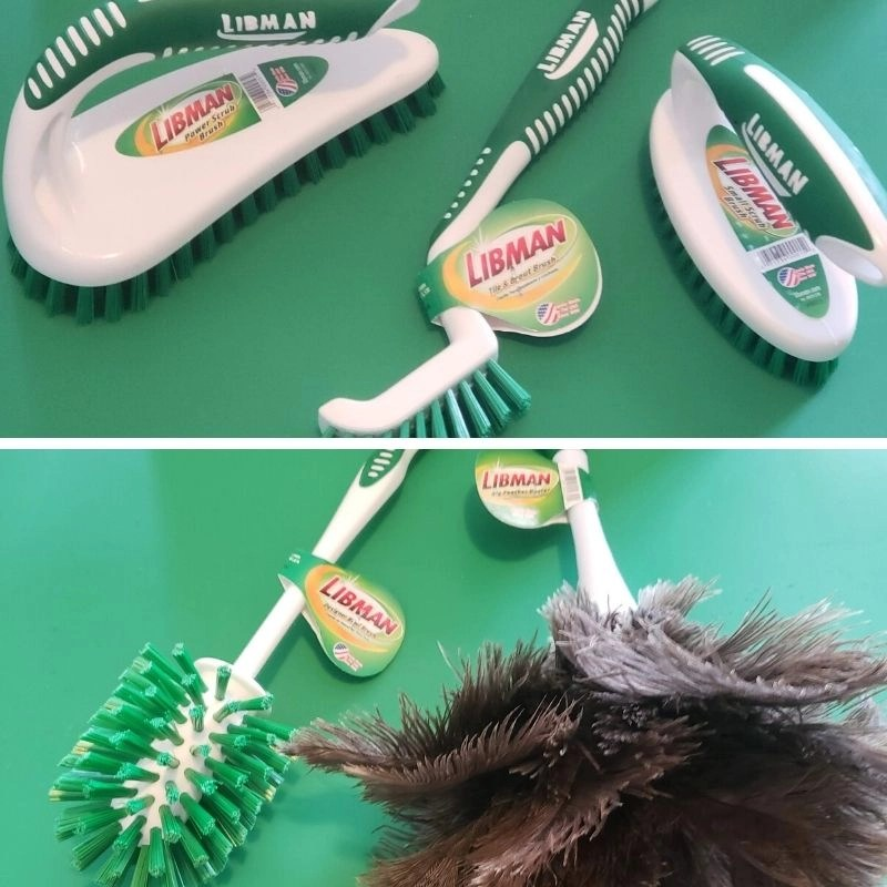 Libman cleaning tools- Duster, brushes and toilet bowl cleaner