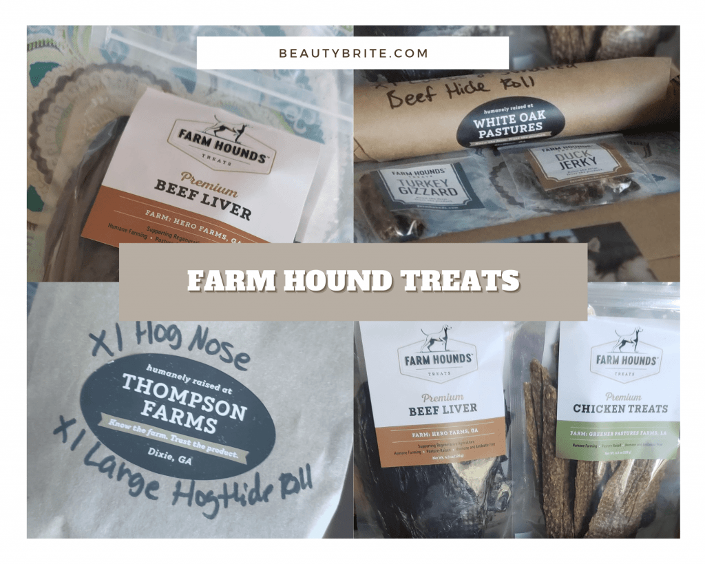 Happy Dog- Farm Hounds are a MUST on the Dog Treat list- they have so many treats, gifts, toppers, box subscriptions, plus monthly deals!
